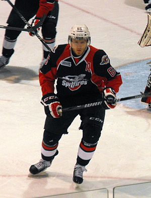 Windsor Spitfires - Slater Koekkoek (December 2013)