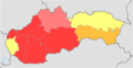 Slovakia total fertility rate by region 2014.png