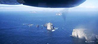 Surtsey - Other islands in the archipelago show the effects of centuries of erosion