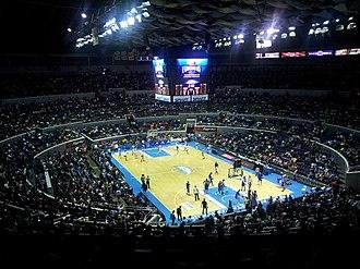 Philippine–Japanese–Indonesian bid for the 2023 FIBA Basketball World Cup - Image: Smart Araneta Coliseum Basketball setup