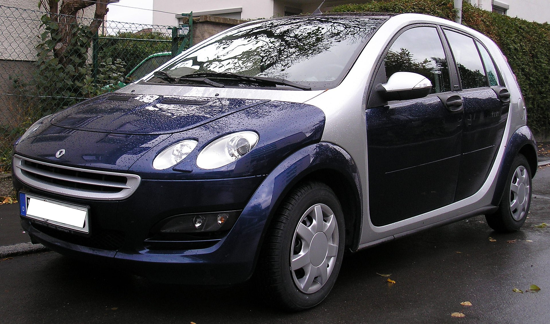 Px Smart Forfour Front on 4 Door Car For A