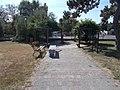Smart bench, Vörösmarty Square, 2020 Fót.jpg