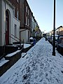 Snow on University Street - geograph.org.uk - 1659850.jpg