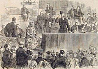 Manockjee Cursetjee - At the 1865 Social Science Congress in Sheffield, Manockjee Cursetjee speaks on female education in India