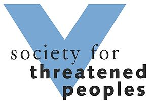 Society for Threatened Peoples -  Logo de la Sociedad por los Pueblos Amenazados
