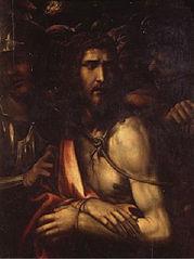 Le Christ entre trois soldats