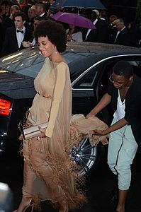 Solange Knowles a Cannes nel 2013