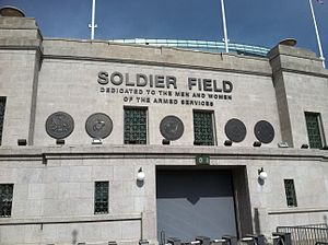 2016 Chicago Bears season - The Bears played all of their home games at Soldier Field.
