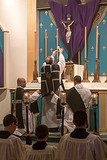Mass of the Presanctified Catholic and Anglican liturgy traditionally celebrated on Good Friday