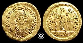 Solidus Romulus Augustus-RIC 3406