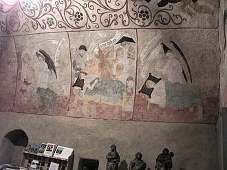 Solna Church - Ceiling paintings