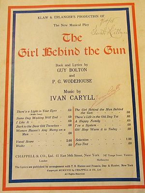 Some Day Waiting Will End - One of two 1918 edition sheet music covers