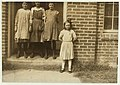 Some samples (not all) of the children in the 'Kindergarten Factory' run by the High Point and Piedmont Hosiery Mills, High Point, N.C. Every child in these photos worked; I saw them at work LOC nclc.02690.jpg