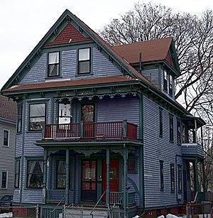 House at 343 Highland Avenue - Image: Somerville MA House At 343Highland Ave