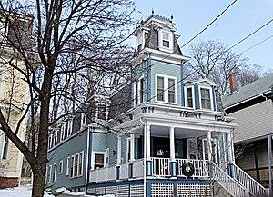 James H. Brooks House - Image: Somerville MA James H Brooks House