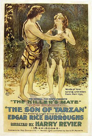 The Son of Tarzan (film) - Film poster