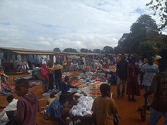 Songea - The Songea market.