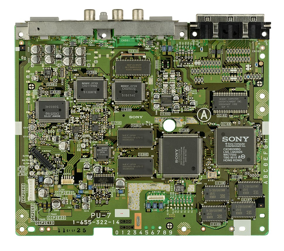 Sony-PlayStation-SCPH-1000-Motherboard-Top