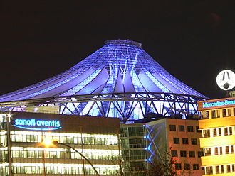 Sony Center - Sony Center outside