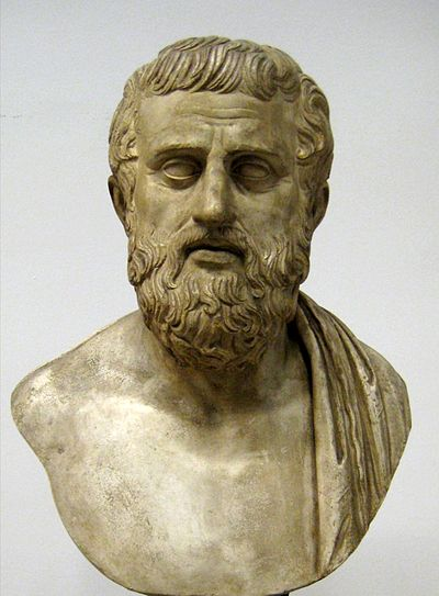 Picture of an author: Sophocles