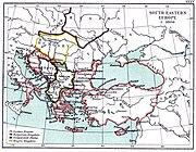 South-eastern Europe c. 1000