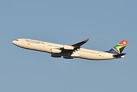 South African Airways A340-300 ZS-SXE.jpg