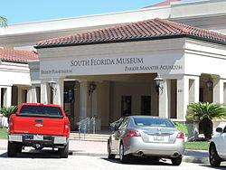 South Florida Museum Main Entrance
