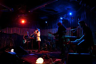 Spaceland nightclub in Los Angeles, CA, USA