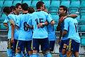 Spain U-19 players celebrate (1).jpg