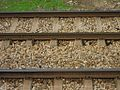 Spanish railroad tracks with concrete sleepers.JPG