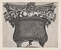 Speculum Romanae Magnificentiae- Basket capital with fruit and satyr head MET DP870152.jpg