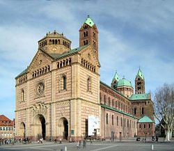 catedral situada en la ciudad alemana de Espira