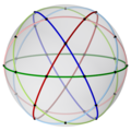 Spherical icosidodecahedron with colored cicles, 3-fold.png