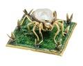 Spindelfigur av guld med barockpärla, 1700-tal - Hallwylska museet - 110309.tif