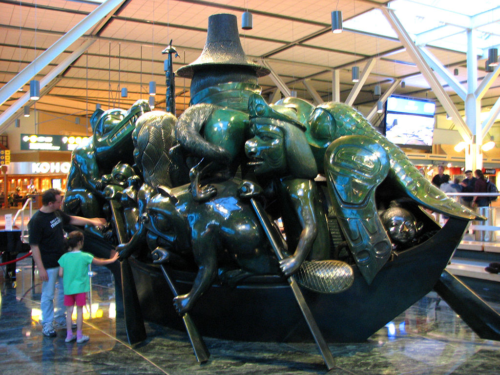 Spirit of Haida Gwaii, The Jade Canoe, port side