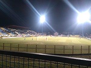 Stadion ŠRC Zaprešić - Image: Src Zapresic po noci