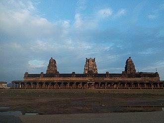 Kodandarama Temple, Vontimitta - View of the Kodandarama Swamy Temple in Vontimitta