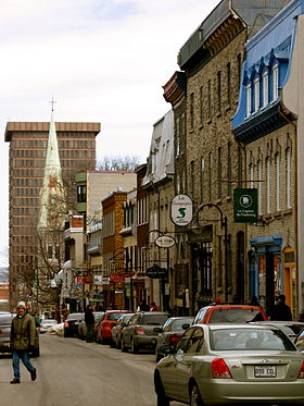 Image illustrative de l'article Rue Saint-Jean (Québec)