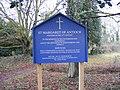 St.Margaret of Antioch Church Notice Board - geograph.org.uk - 1136637.jpg