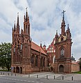 St. Anne's Church Exterior 1, Vilnius, Lithuania - Diliff.jpg