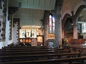 St Martin's Church, Brampton - Interior of St Martin's Church