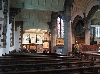 St Martin's Church, Brampton - Interior of St Martin's Church
