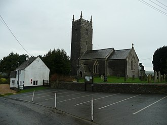 Huntshaw - Image: St. Mary Magdelene's church, Huntshaw geograph.org.uk 660001