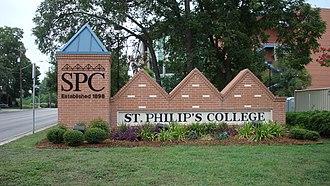 St. Philip's College (United States) - Image: St. Philip's College