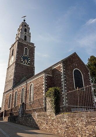 Church of St Anne, Shandon - Saint Anne's Church as seen from Church Street