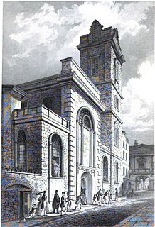 St Bartholomew-by-the-Exchange Church in London