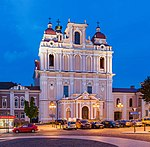 St Casimir Church Exterior At Dusk, Vilnius, Lithuania - Diliff.jpg