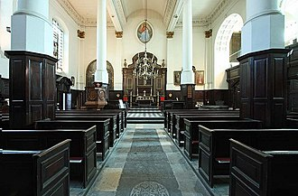 St Martin, Ludgate - Interior of St Martin Ludgate