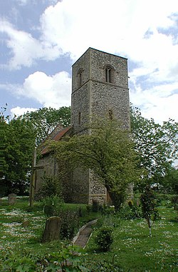 St Mary, Houghton-on-the-Hill, Norfolk - geograph.org.uk - 309241.jpg