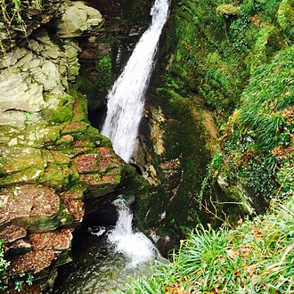 St Nectan's Kieve - View from the Woodland Walk